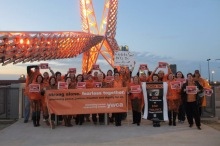 Zonta Says No at the Sky Dance Bridge