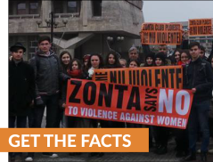 Zonta Says No To Violence Against Women Join Us And Say No To