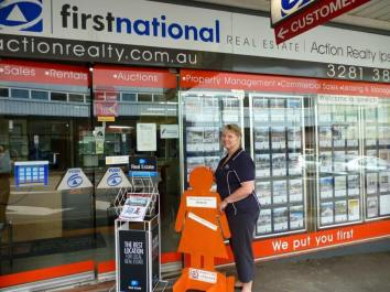 Day 10: First National in Brisbane Street, Ipswich.