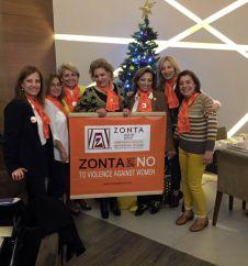 Zonta Says NO banner