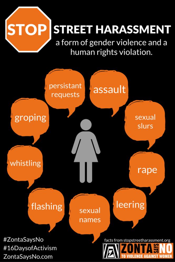 Zonta Says NO Street Harassment (1)
