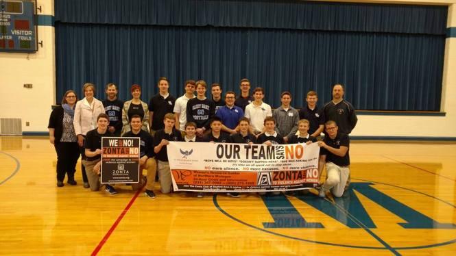 Zonta Club of Gaylord Area high school athletes.jpg