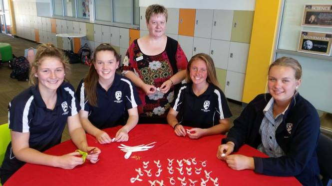 Zonta Club of Mt Barker students white ribbons.jpg