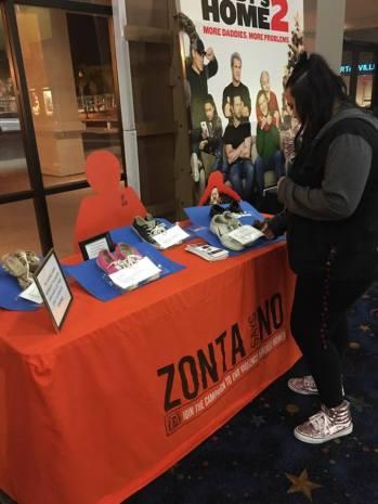 Zonta Club of Porterville movie display 2