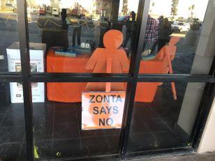 Zonta Club of Porterville movie display 3