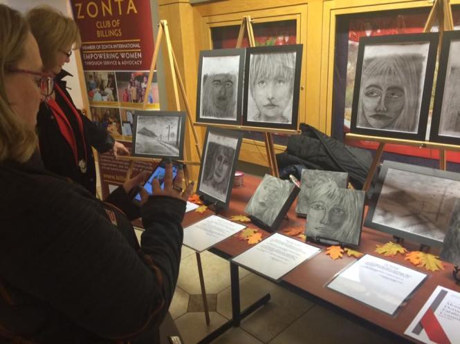 Zonta Club of Billings art show