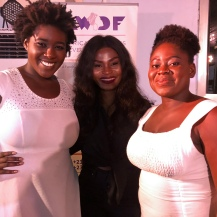 Zonta e-Club of West Africa with cast