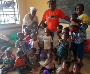 Zonta Club of Lagos1 children's party