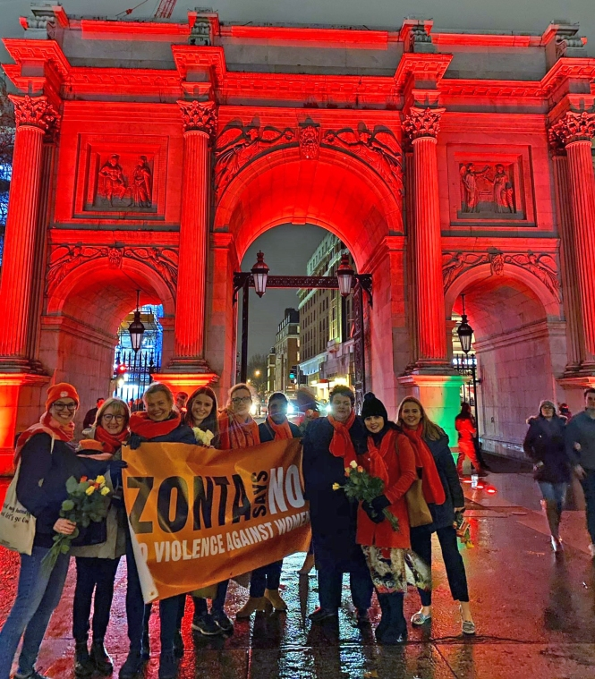 ZC of London March Arch